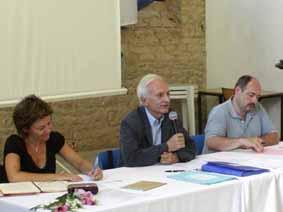 Sylvie Robert, Jean Musitelli et Nicolas Le Quintrec