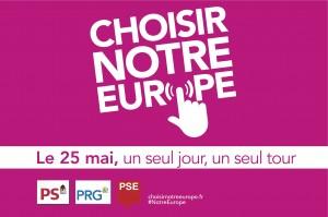 Panneau Choisir Notre Europe