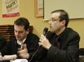 Ronan Le Délézir et Gwendal Rouillard à Auray le 22 février