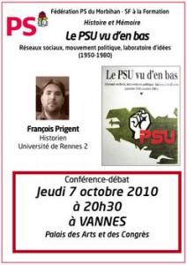 débat PSU
