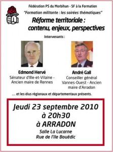 débat réforme territoriale